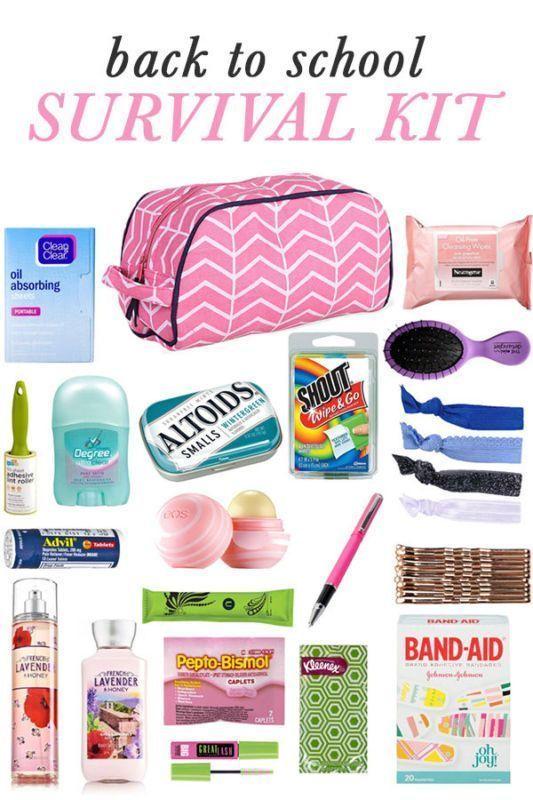 DIY Back to School Survival Kit – #DIY #essentials…