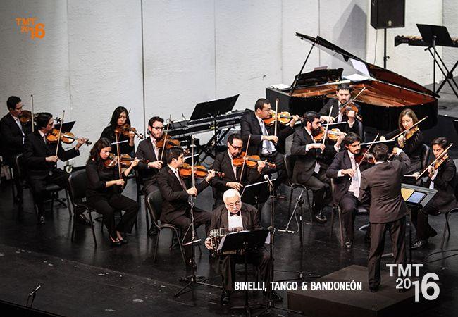 Daniel Binelli, OFT, Director David Ayma, Teatro Municipal Temuco 2016