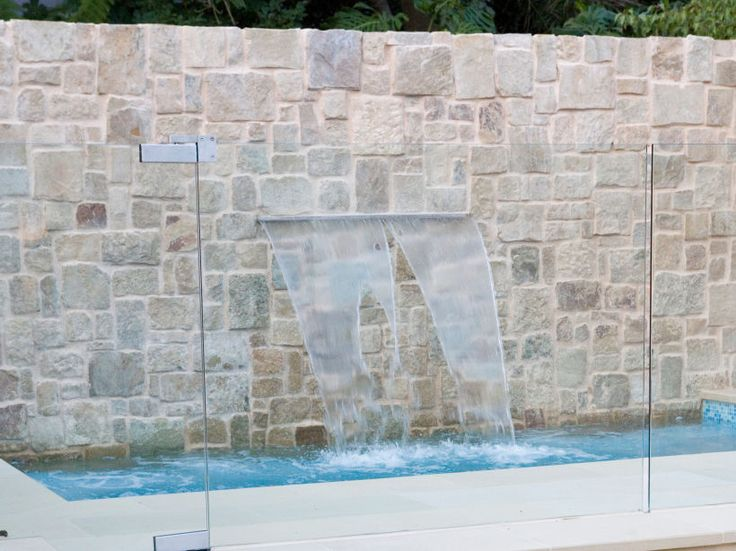 Pool Wall Cladding : Best natural stone tiles and cladding images on