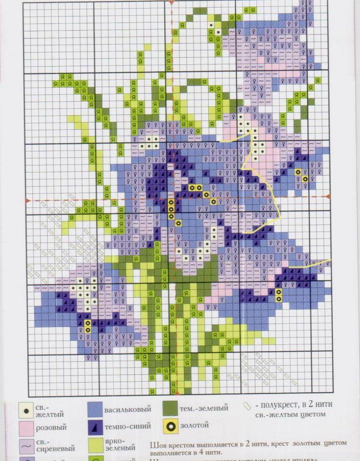 вышить крестиком цветы кладовая схем: 20 тыс изображений найдено в Яндекс.Картинках