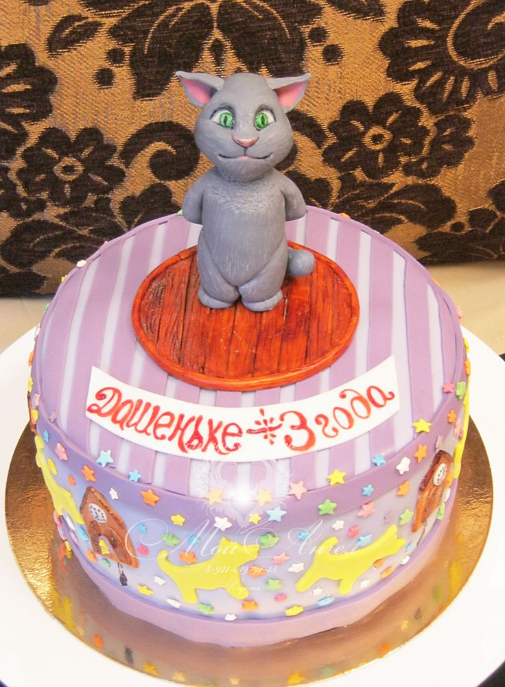 Cake Quot Talking Tom Quot Rubys Cakes In 2019 Cake