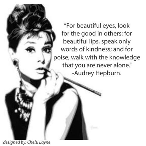 """Shakespeare Quotes On Beautiful Eyes: Audrey Hepburn Quote! """"For Beautiful Eyes..."""""""