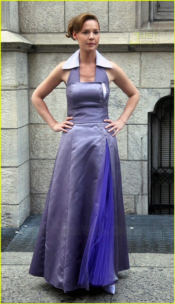 Grey's Anatomy star Katherine Heigl and Hairspray hottie James Marsden join forces, filming scenes together for their upcoming romantic comedy 27 Dresses in the Meatpacking District on Monday in New York City.  http://www.justjared.com/photo-gallery/483311/katherine-heigl-bridesmaid-08/