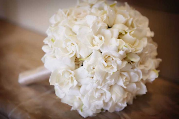 White gardenia bouquet So lovely