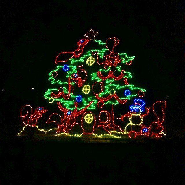 Santa/'s Big Ride Night Light