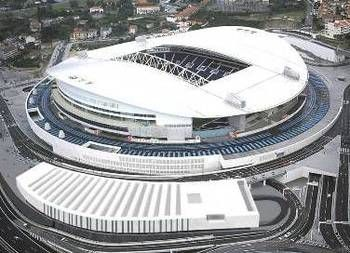 Power-Ranking World Football's 50 Best Stadiums.  Estádio Do Dragão: Porto, Portugal   Opened: 2003    Capacity: 52,000    Tenants: FC Porto    FC Porto were not to be outdone by rival club Benfica as both entered new world-class stadiums in 2003.    The Dragao was built as part of the plans for Portugal's hosting of the 2004 UEFA European