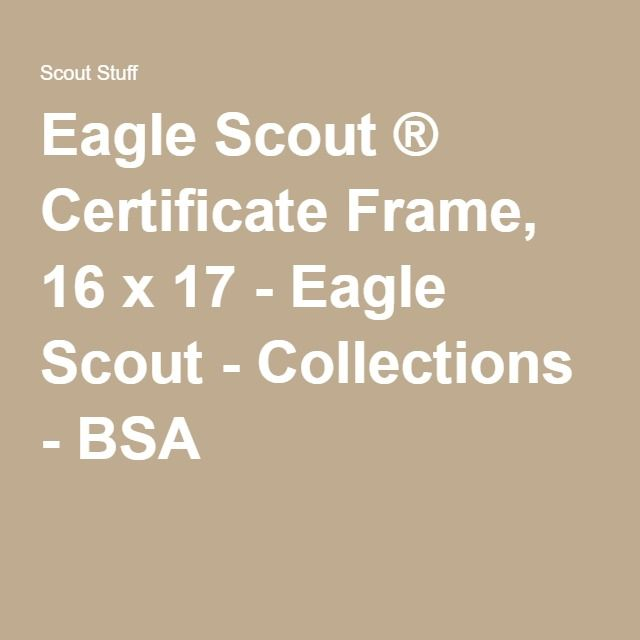 1000 Ideas About Certificate Frames On Pinterest Eagle