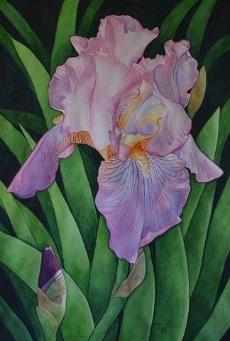 Karen Benco, PWCS and PWS-Watercolor Paintings and Prints