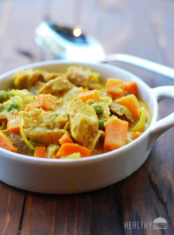 Turkey curry- I tried this recipe with rotisserie chicken and it was amazinggg! You can eat it alone, with rice, or I even tried it with couscous once... My favorite!