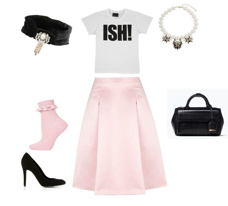 Ladylike et rose bonbon