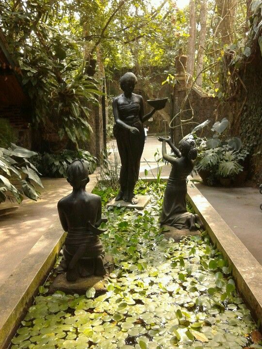 Ullen Sentalu. Jogjakarta, Indonesia. Explore the garden and feel transported to the old java