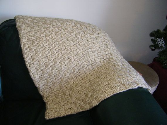 Basket Weave Afghan Crochet Pattern : Crochet basket weave afghan Crochet Pinterest