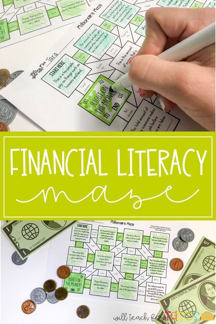 Financial Literacy Maze 4th And 5th Grade Teks Financial Literacy Worksheets Financial Literacy Financial Literacy Lessons [ 1104 x 736 Pixel ]