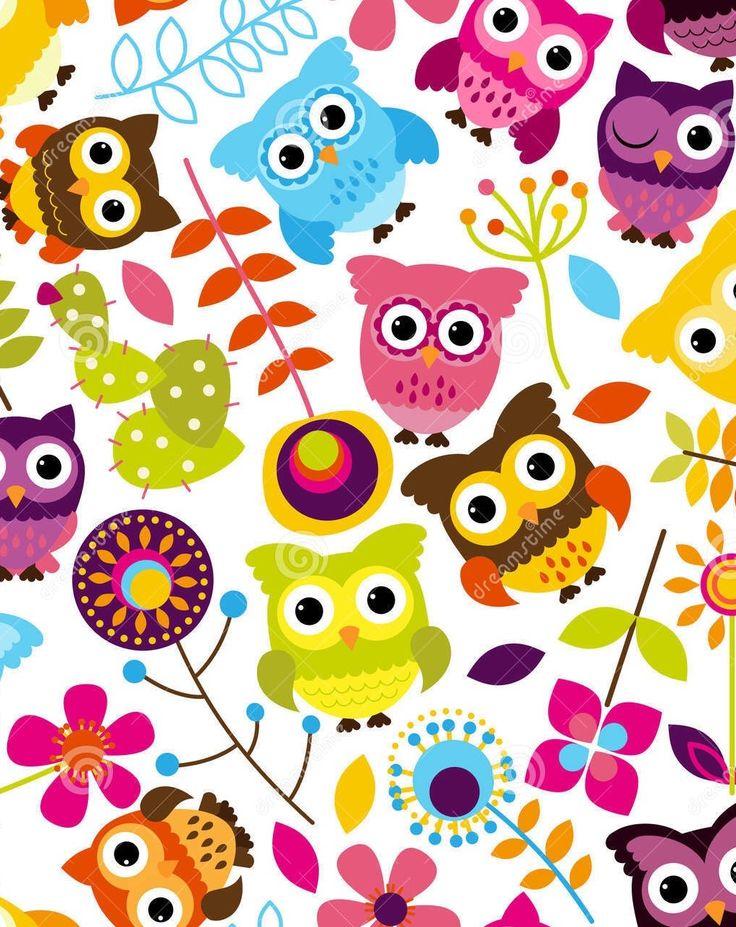 Cute Owl Pattern Wallpaper | www.pixshark.com - Images ...