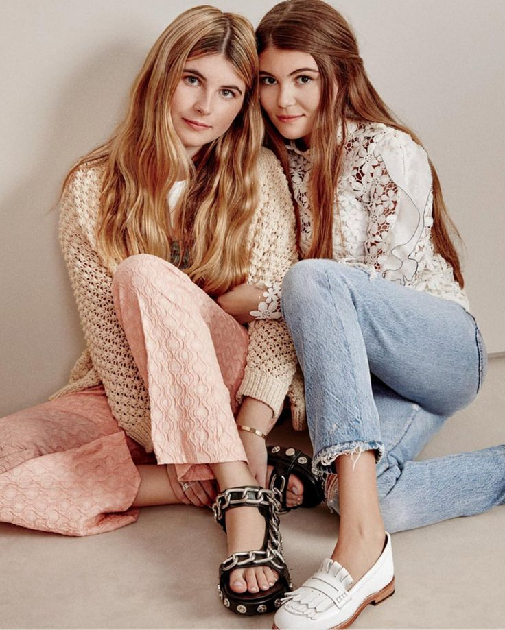 Lori Loughlin's gorgeous daughters Bella and Olivia make their modeling debut in Teen Vogue! | toofab.com