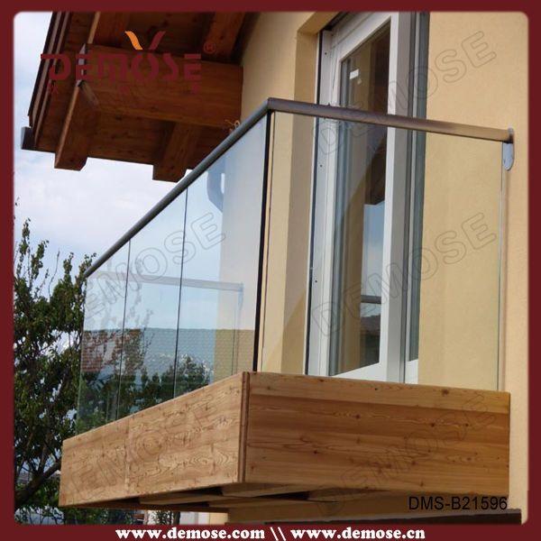 Balcon Glass Balcony Railing For Interior Decoration