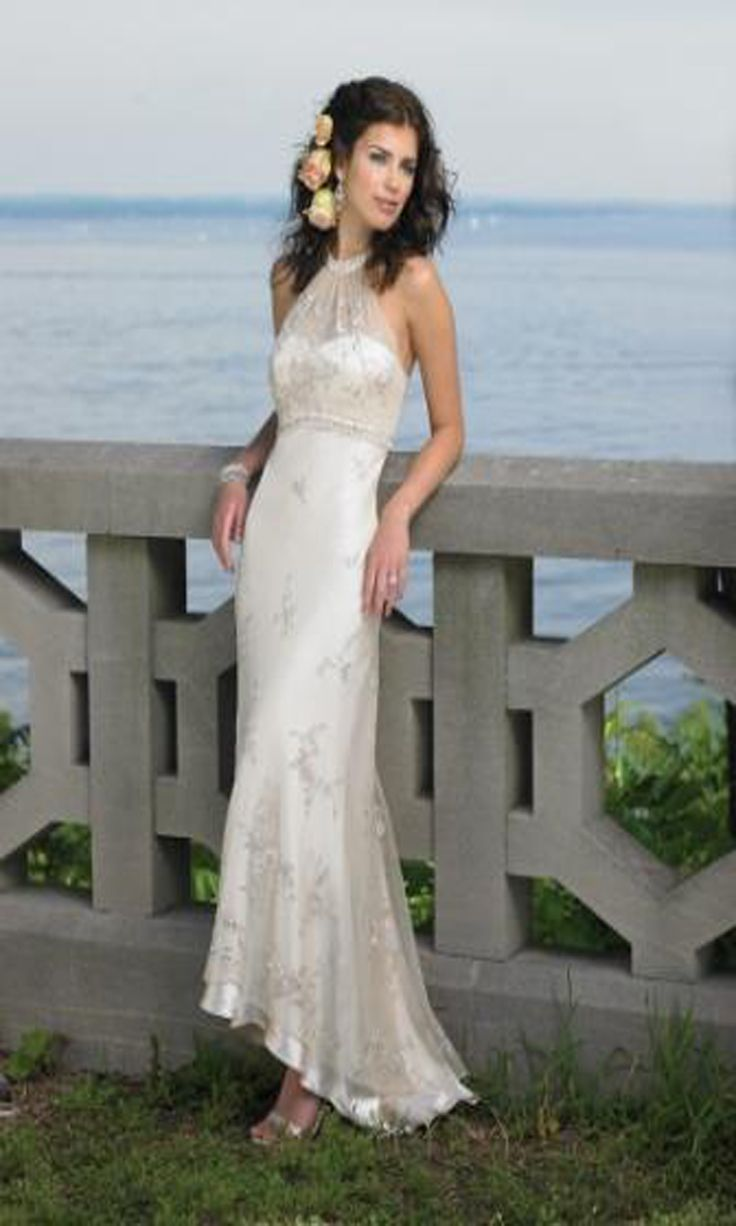 81 best Beach Wedding Dress Ideas images on Pinterest Marriage