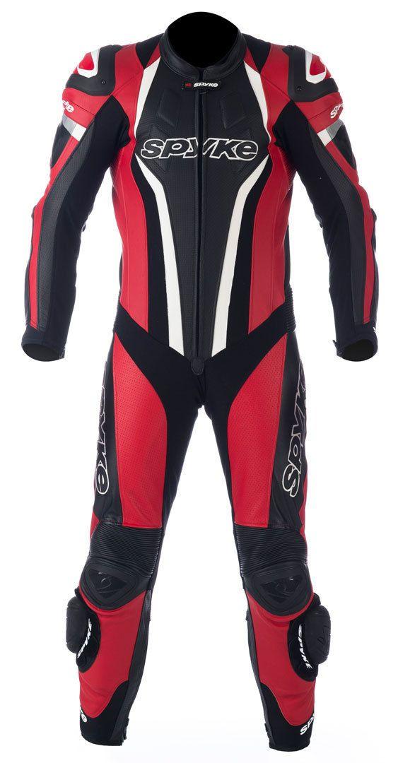 #Mono de carreras de piel para #moto - Spyke Top Sport Mix Kangaroo #TrajesDeMoto