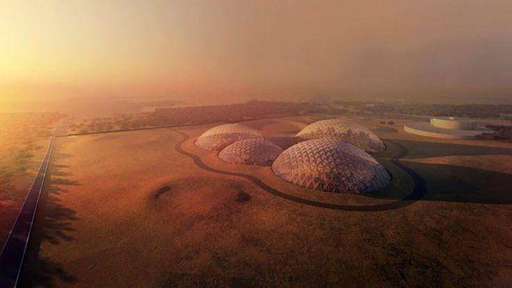 ICYMI: Así será la enorme ciudad marciana en el desierto árabe (FOTOS)