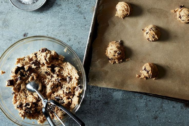 Danielle Oron's Salted Tahini Chocolate Chip Cookies recipe on Food52