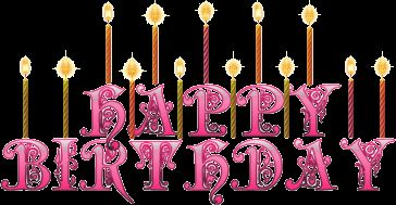 Glitter Birthday Wishes | Happy Birthday Orkut Scraps, Cute Birthday Wishes, Birthday Glitter ...