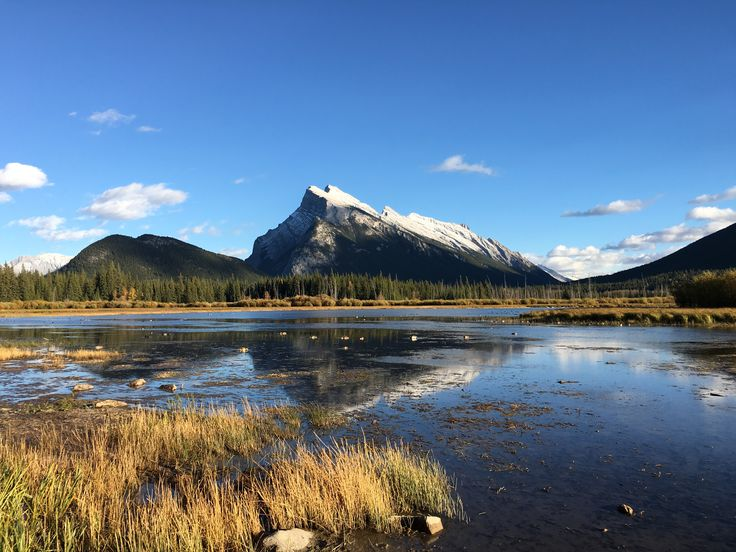 Pulled off on the side to see this amazing view. Somewhere in Banff.