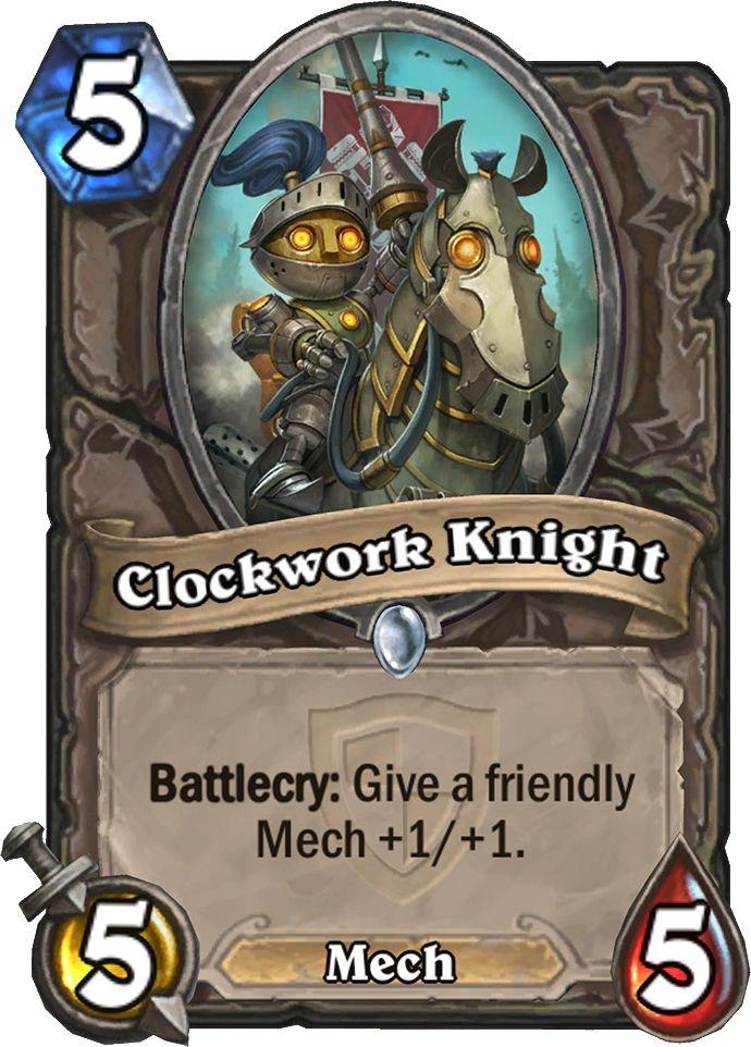 Új Hearthstone kártya, ami jó lesz a Mech-ekhez!