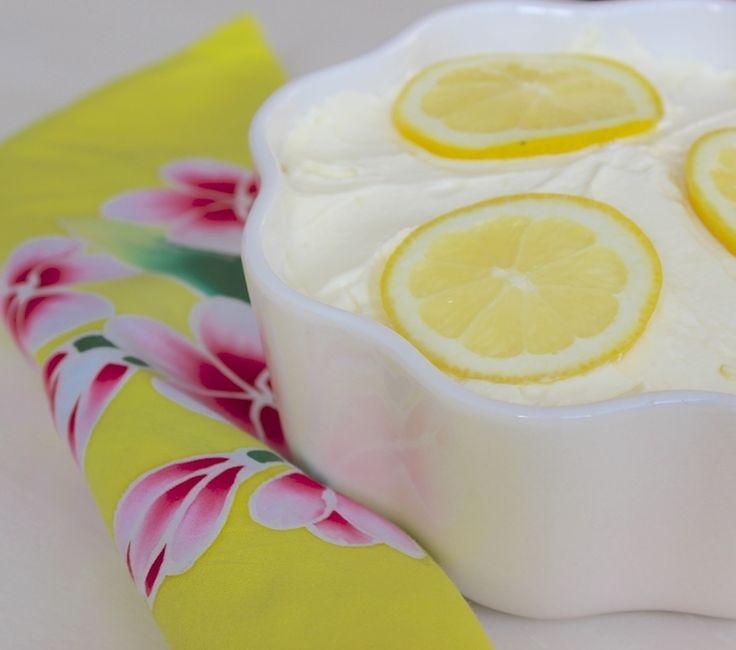 Een heerlijk frisse tiramisu met citroen en limoncello!