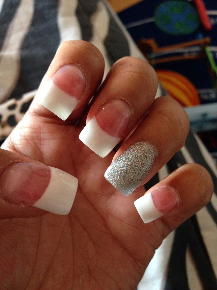 1000+ Ideas About French Tip Acrylics On Pinterest