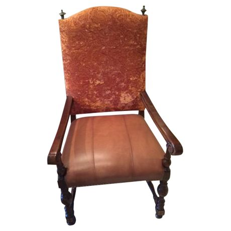 Leather Dining Room Chairs - Set of 8 on Chairish.com.   $375