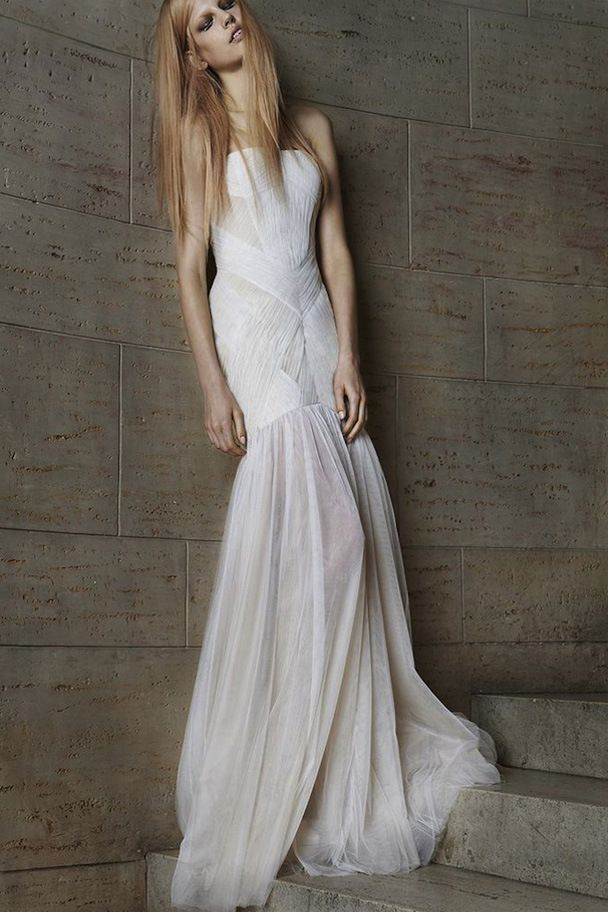 Vera Wangs New Edgy Wedding Dress Collection Spring 2015