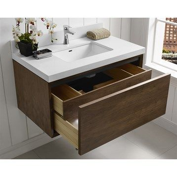 Create Photo Gallery For Website Fairmont Designs M Wall Mount Vanity Natural Walnut