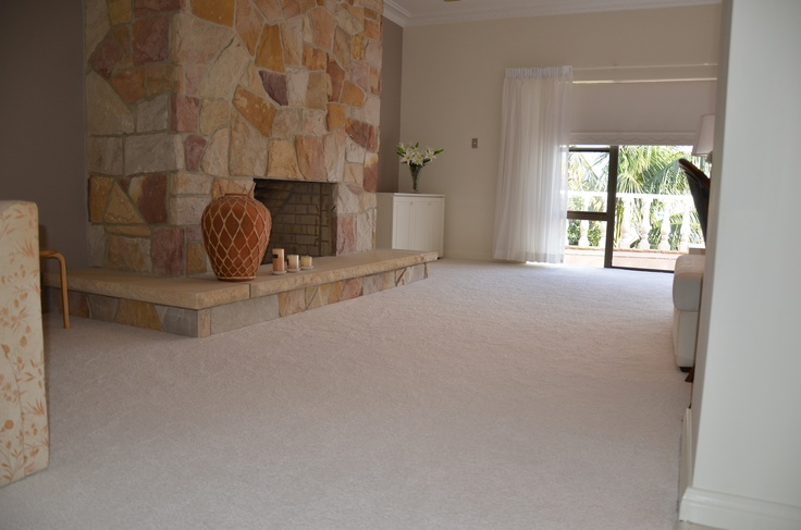 Iq150 Brilliant Design Smartstrand carpet laid by Harvey Norman Caringbah