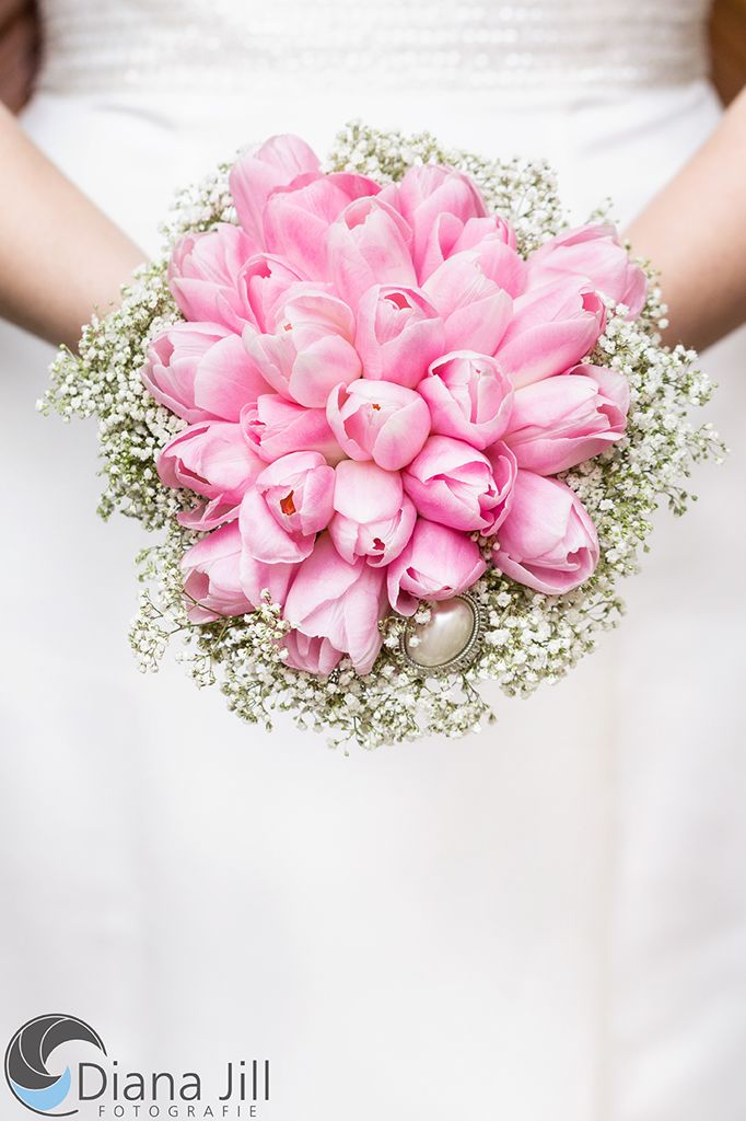 Bridal Bouquet March Some Of The Used Flowers Tulip Baby S