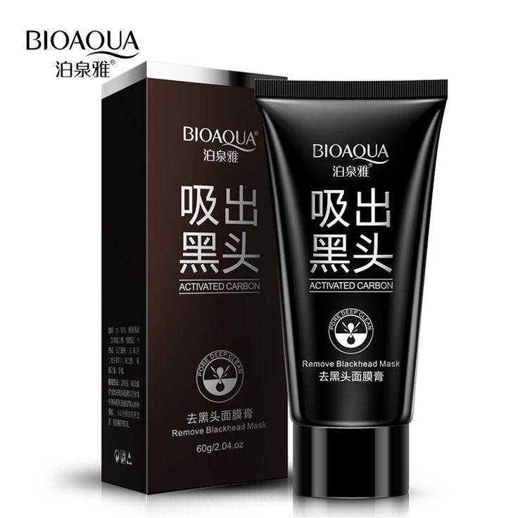 BIOAQUA Face Care Suction Black Mask Facial Mask Nose Blackhead Remover Peeling Peel Off Black Head Acne Treatments