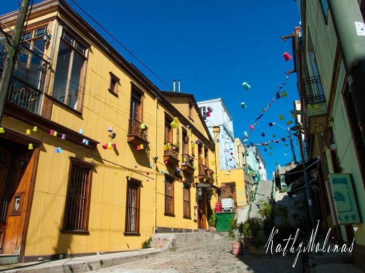 Vasos Colores, Valparaiso