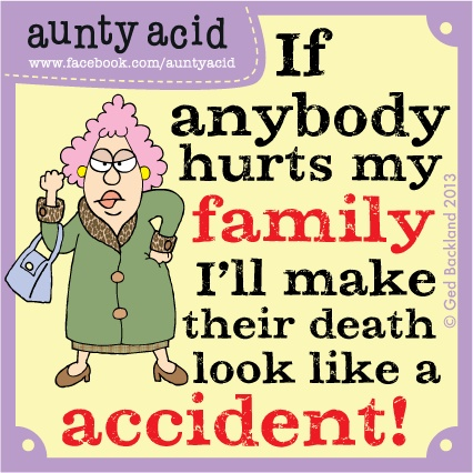 Anybody else feel like this about their loved ones? Just a joke Folks I wouldnt hurt a fly!