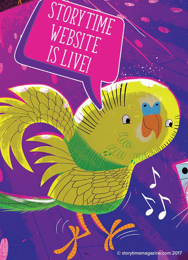Our new Storytime website is live and open for orders! Hooray! Visit http://www.storytimemagazine.com/subscribe :-)