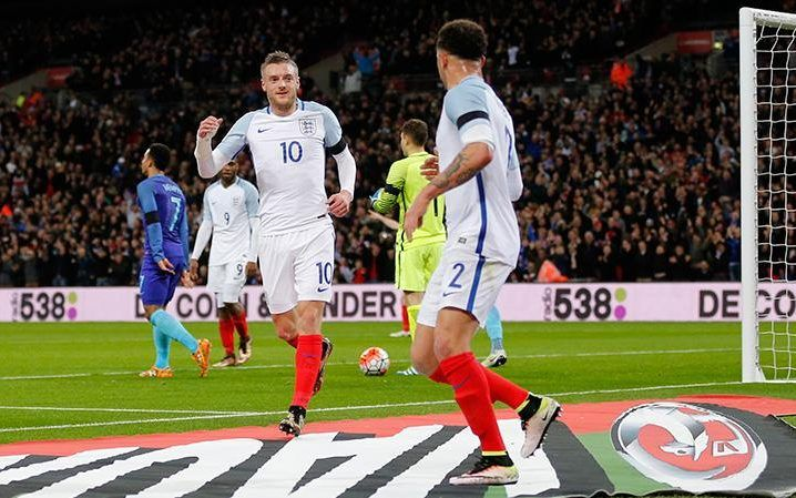 March 30 2016 - Jamie Vardy scores his 2nd England goal in as many games but Roy Hodgson's side slump to Dutch defeat