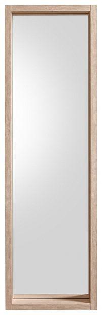 Attraktiver Blickfang: Der elegant gerahmte Spiegel »Match« von HMW Möbel vermag es, den Eingangsbereich auf eine angenehm zurückhaltende Art mit einladendem und strahlendem Charme zu erfüllen. Je nach Bedarf und Raumbeschaffenheit kann er natürlich auch in anderen Bereichen wie zum Beispiel im Schlafzimmer oder sogar als großzügiger Badspiegel genutzt werden.