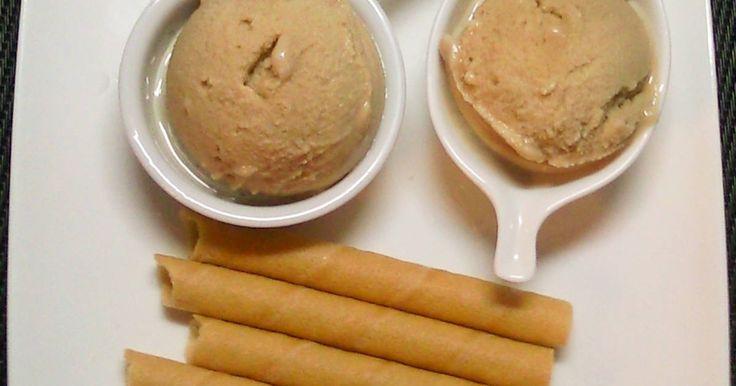 Fabulosa receta para Helado de Moka (sin lactosa). Helado de café muy sencillo…