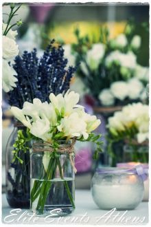 #eliteeventsathens #candles #ceremony #wedding #flowers #provence #lilac #white #weddingplanning #decoration #vintage #country #white #purple #bouquet #marriage #christening #rice #corner #candy #table #corner #lavender #athens #santorini #greece