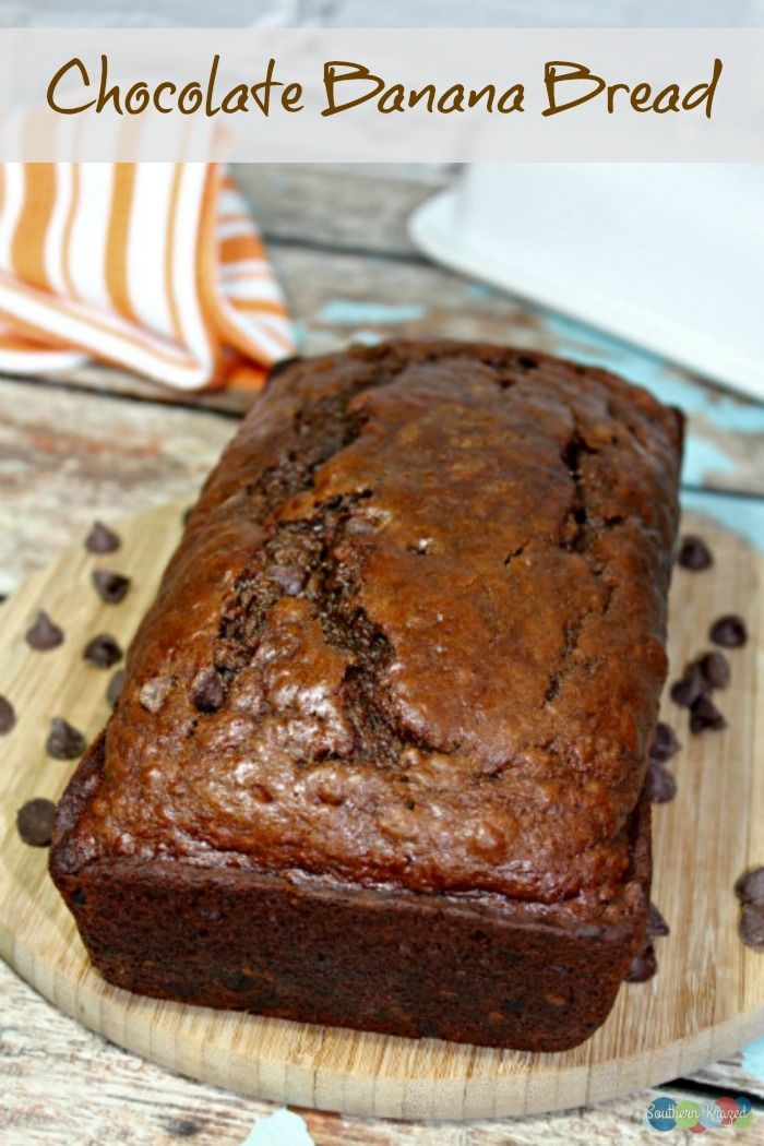 Nothing beats a fresh loaf of Chocolate Banana Bread, still warm from the oven - perfect for breakfast, an afternoon snack or dessert!