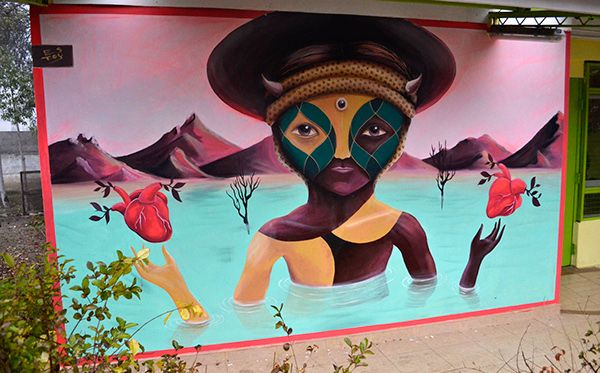 MURALES EN EL JARDIN on Behance