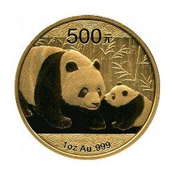 Panda Gold Münze