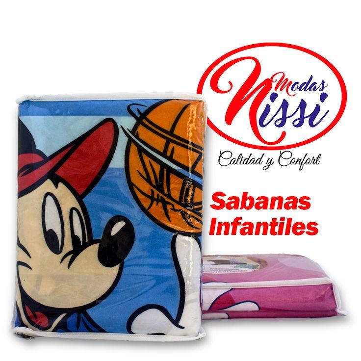 Sabanas linea infantil Modas Nissi #sabanas #camas #decoracion #decoracionparaelhogar #alcoba #sabanasnissi #lineainfantil #mickeymouse