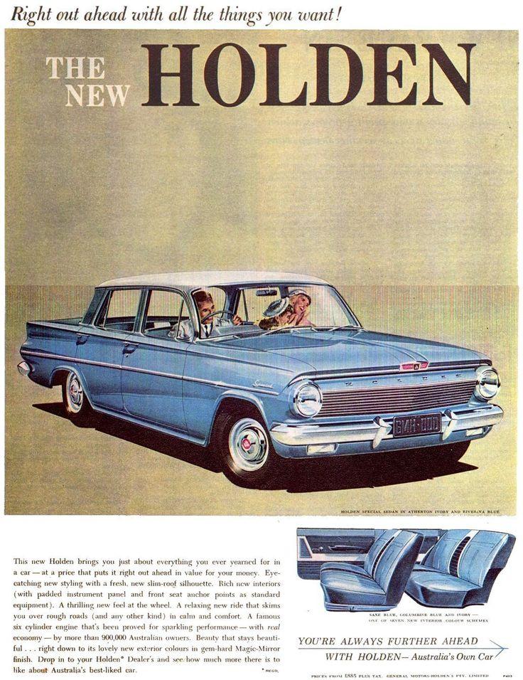 1962 Holden EJ