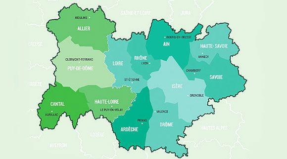 Dix mesures communes pour l'union Rhône-Alpes et Auvergne