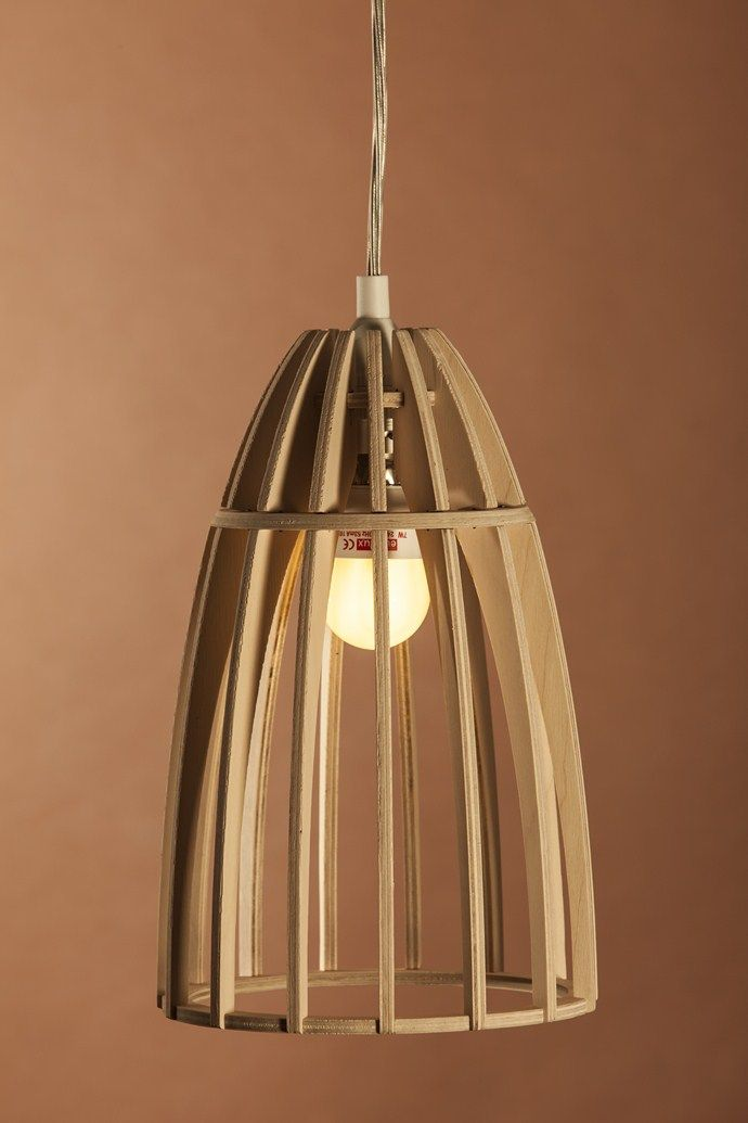 Add transparent, blue shading of varying shades between struts. Jacques Cronje's Minima Light | House and Leisure