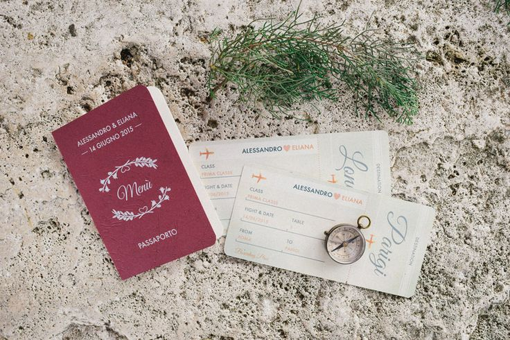 Wedding travel - stationery by Mondo • Mombo Photocredit: L&V Photography